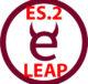 logo exercism z napisem leap oraz es.2